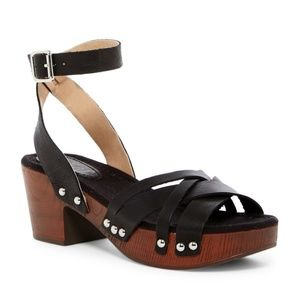 a61c26b02 new LATIGO Jo-Jo Ankle Strap Leather Clog Sandals